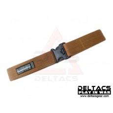 BHD Quick Release Tactical Gear Belt - Tan